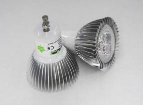 LED GU10 6W Leuchtmittel kaltweiß oder warmweiß (Spot, Strahler)