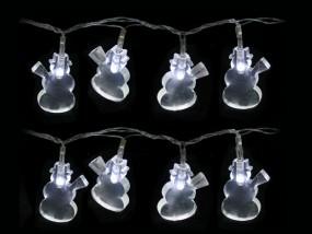 LED Lichterkette Schneemann 6,5m mit 40 Lichtern