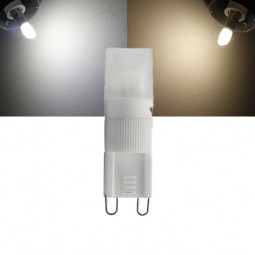 LED G9 2W Keramik dimmbar 230V Leuchtmittel warmweiß kaltweiß (Spot, Strahler, Halogen)
