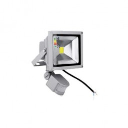LED Fluter 230V 20W COB High Power Strahler mit Bewegungsmelder IP65