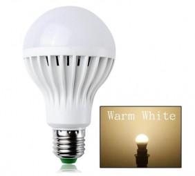 SeKi LED E27 5W Leuchtmittel warmweiß kugelform