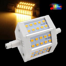 LED Halogenstab R7S 6W dimmbar warmweiß 78mm Ersatz