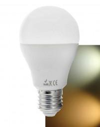 LED E27 5W Leuchtmittel A60 warmweiß - reinweiß