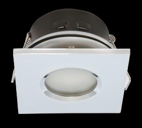 LED Einbaustrahler GU5,3 MR16 Chrom Spot wasserdicht