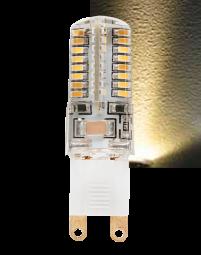 LED G9 2,5W - 3,5W Leuchtmittel warmweiß