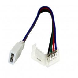 Lötfreier RGB Stecker für 10mm LED Strips 5050