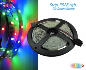 LED Strip RGB 5m 60 LED/m 12V
