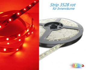 LED Strip ROT 50cm - 5m 12V 60 LED/m IP20