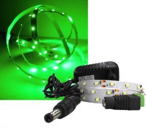 LED Strip Komplettset 1m - 60 SMDs - 3528 - einfarbig GRÜN