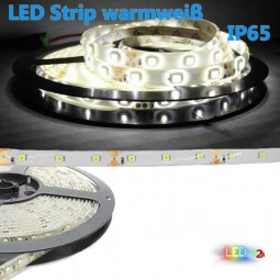 Flex LED Strip WARMWEIß 5m 3528 60 LED / m IP65